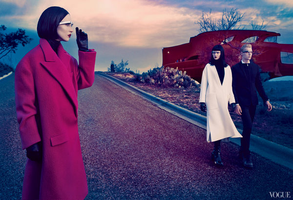 Editorial de Vogue, dedicado al futuro de la moda (septiembre, 2013)
