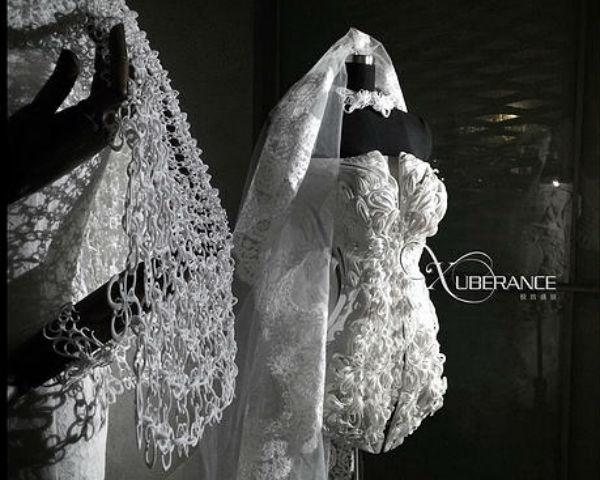 Wedding Dress by Xuberance