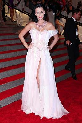 Katy Perry at MET Gala by CuteCircuit